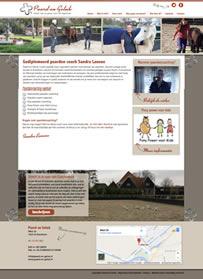 Website Paard en Geluk
