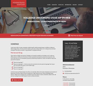 Webdesign template 3