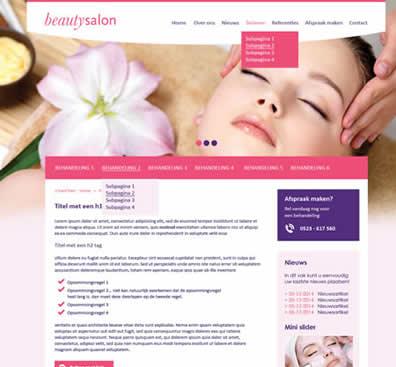 Webdesign template 5