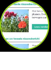 Gratis weblog / blog / nieuwsmodule